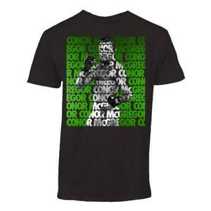Conor McGregor Repeat Tee Black, MMA, MMA Clothing, UFC