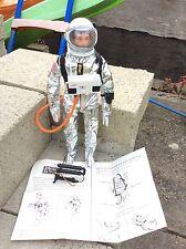 VINTAGE ACTION MAN-Astronauta + accesorios + manual.