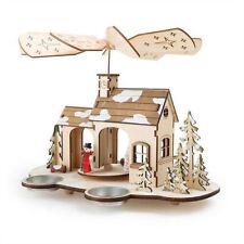Weihnachtliche Figuren aus Holz