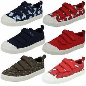 Clarks Boys Machine Washable Casual Shoes City Vibe