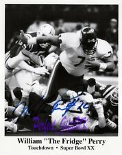 William The Fridge Perry NFL 10x8inch Re-Pro Signed Autographed Photo