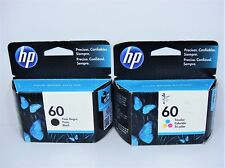 Genuine HP 60 Black/Color Ink Cartridges (CC640WL/CC643WL)