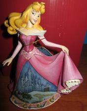 Aurora Castle Dress Sleeping Beauty Jim Shore Disney Traditions Figurine Enesco