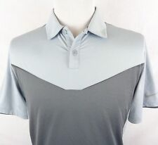 Nike Golf Small Dri Fit Polo Shirt Tour Performance 2 Different Grays Geometric