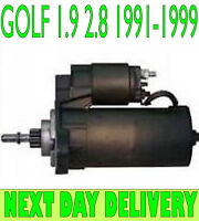 VW Golf mk3 1.9 2.8 D TD GTD VR6 1991 1992 1993 1994 to 1999 starter motor