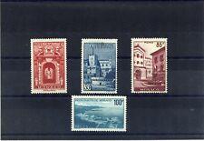LOT DE 4 TIMBRES NEUFS** N°503, 506, 508 & 509 VUES DE MONACO 1959(lot 04692020)
