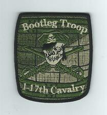 """BOOTLEG TRP 1-17 CAV (WOODLAND COLOR)  """"THEIR LATEST"""" patch"""