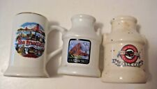 3 VINTAGE SAN FRANCISCO ADVERTISING TOOTHPICK HOLDERS ~ CABLE CAR