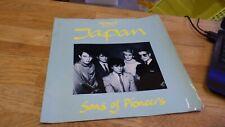 David Sylvian, Japan, Sons of Pioneers 1982 UK Tour program