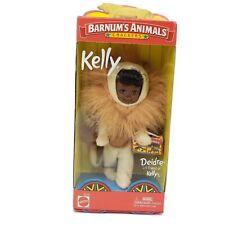 New Barnum's Animal Crackers Deidre Lion Li'l Friend of Kelly Barbie Mattel