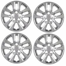 """NEW 16"""" CHROME Hubcap Wheelcover SET of 4 that FITS 2007-2015 Nissan ALTIMA"""