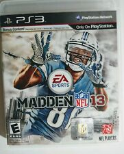 Madden 13 NFL PS3