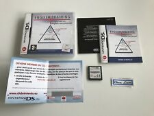 English Training - Nintendo DS - FR - Avec Notice