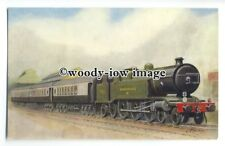 """ry1348 - L.B.&S.C Memorial Engine """"Remembrance"""" hauls """"Southern Belle""""- postcard"""