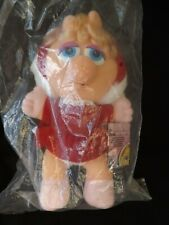 Vintage Christmas Miss Piggy McDonalds Muppet Babies Miss Piggy New Sealed 1988