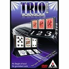 TRIO ASTOR AMAZING PREDICTION REVELATION CARD MAGIC TRICK EASY TO DO WELL MADE