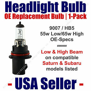 Headlight Bulb High/Low OE Replacement Fits Listed Saturn & Subaru Models - 9007