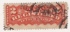 KAPPYSSTAMPS ID9667 CANADA F1 USED NICE REGISTERED FANCY CANCEL