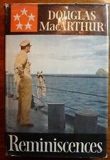Douglas MacArthur Reminiscences 1st Edition HC w/DJ WWII Autobiography