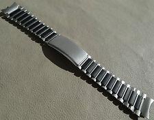 Timex Ironman Triathlon Stainless Black 19mm DATALINK Watch Band Round Ends
