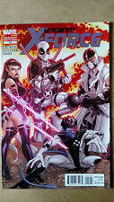 UNCANNY X-FORCE #19 DEADPOOL VARIANT MARVEL COMICS (2012) PSYLOCKE NIGHTCRAWLER