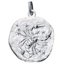 Anhänger Sternzeichen Skorpion 925 Sterling Silber matt Sternzeichenanhänger.