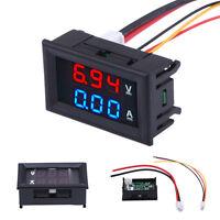 DC 100V 10A Digital LED Panel Voltmeter Ammeter Amp Current Volt Voltage Meter