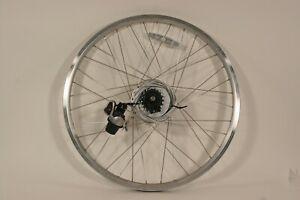 "26"" Rear Wheel NuVinci N360 HUb w/Oval Alloy 36h Rim Shifter, Cable, Cog R12"