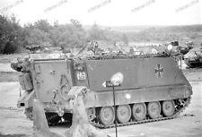 Panzer-M 113-trasporto carri armati-catene veicolo-cisterna esercito tedesco-Grafenwöhr - 1967