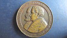 Medaille Bronze Berlin Joachim II 1539/Friedr. Wilhelm III 1839 Reformation(N28)