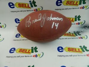 Brad Johnson Tampa Buccaneers - Baltimore - Minnesota Wilson Football w/COA