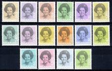 Nederland: 1981-1990 - Frankeerserie Beatrix compleet postfris / MNH