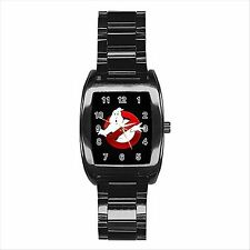 NEW HOT GHOSTBUSTERS Quality Stainless Steel Barrel Wrist Watch Gift