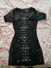 River Island dress size 8 t-shirt dress black
