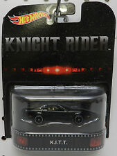 KNIGHT RIDER KITT K I T T BLACK PONTIAC FIREBIRD TRANS AM TV MOVIE HW HOT WHEELS