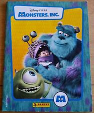 Monsters Inc. Disney Panini Sticker Album - Complete - Good Condition w.Poster
