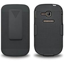 Matte Rigid Plastic Clip Cases for Samsung Cell Phones