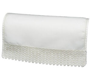 100% Cotton Non Slip Chair Back Sofa Settee Furniture Cover Antimacassar Cream