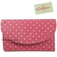 Cath Kidston Curve Portemonnaie Mini-punkte (Gewaschen Rot) 100% authentic