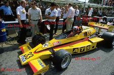 Hans Binder ATS RACING TEAM Penske pc4 ITALIANO Grand Prix 1977 Fotografia