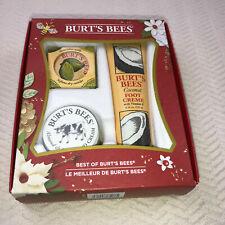 *NEW* Burts Bees Best of Burt's Gift Set Hand Foot Cuticle Cream *NEW*