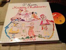 "P LION - HAPPY CHILDREN 12"" MAXI SPSAIN CBS 83 ITALO DISCO"