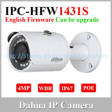 Dahua IPC-HFW1431S 4MP Wdr Ir Mini-Bullet Cámara Ip Poe Exterior English Version