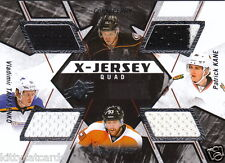 15/16 SPX X-Jersey Quad Jersey Kane Tarasenko Perry Voracek Blackhawks Blues SP