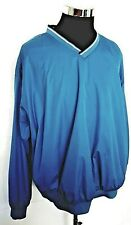 Bolle Golf XL Mens Water/wind resistant pullover blue windbreaker activewear
