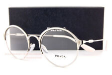 Brand New Prada Eyeglass Frames 54VV 274 Silver Size 51 For Women