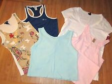 LOT OF WOMEN'S TOPS SIZE LARGE COOL ATTITUDE,NAUTICA ETC LOT #12