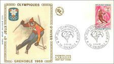 Xes JEUX OLYMPIQUES D'HIVER - INAUGURATION - GRENOBLE  - 1968 -  FDC