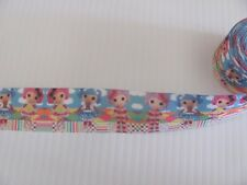 Lalaloopsy Cartoon Style 1 inch Grosgrain Ribbon