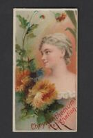 1892 W. Duke Sons & Co. Floral Beauties & Flowers N75 CHRYSANTHEMUM
